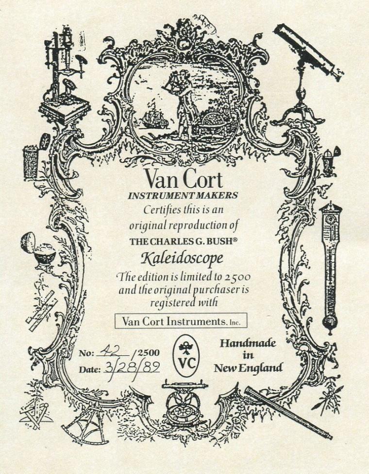bush-certificate