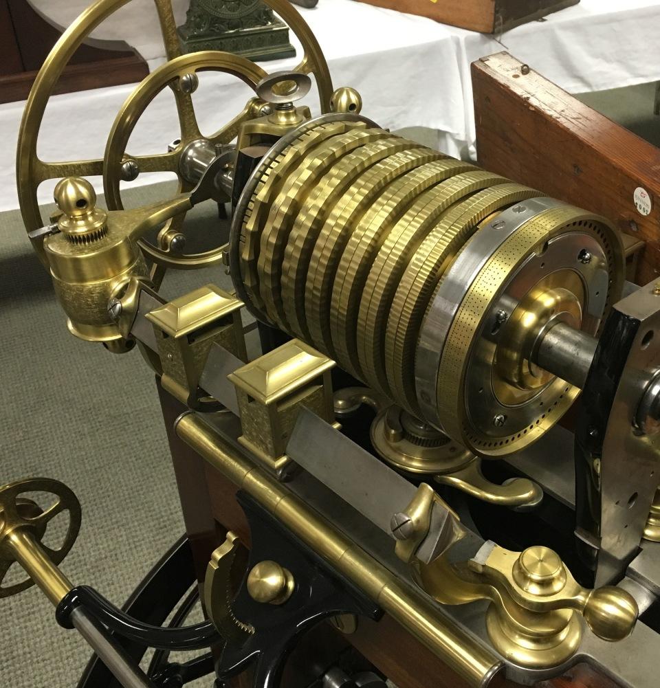 Holtzapffel and Deyerlein 12 inch Rose Engine 3 detail