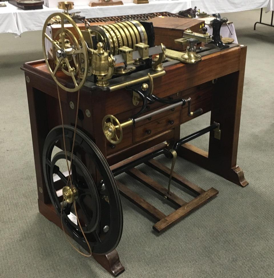 Holtzapffel and Deyerlein 12 inch Rose Engine